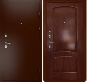 Дверь Luxor 3a Лаура красное дерево шпон