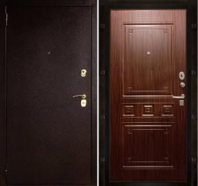 Дверь Соломон Гранд орех тиснёный