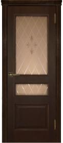Дверь Милан дуб (Т-2) со стеклом