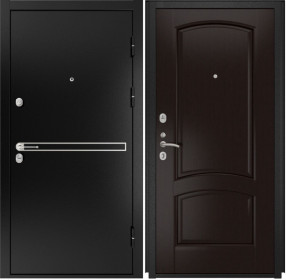 Дверь Luxor 4 Лаура венге шпон