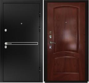 Дверь Luxor 4 Лаура красное дерево шпон