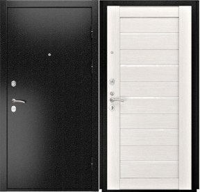 Дверь Luxor 3b Лу 22 беленый дуб экошпон