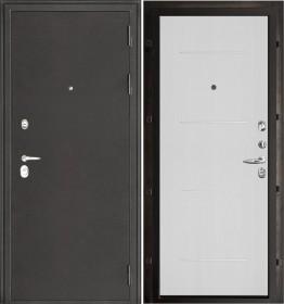 Дверь Колизей Лайт MD-003 белый ясень пвх