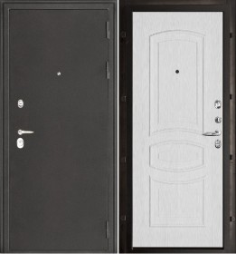 Дверь Колизей Анастасия белый ясень пвх