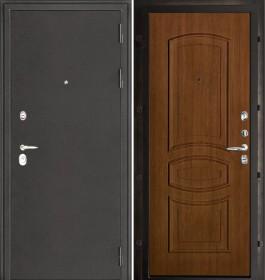 Дверь Колизей Анастасия темный орех пвх
